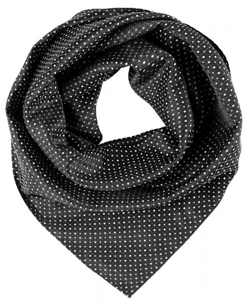 GREIFF, Tuch gewebt/schwarz/silbergrau Art.Nr.6901
