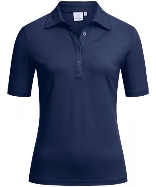 GREIFF Damen-Polo Kurzarm marine Blusen/Hemden/Strick 6681.1405.20 6681 1405 Shirt