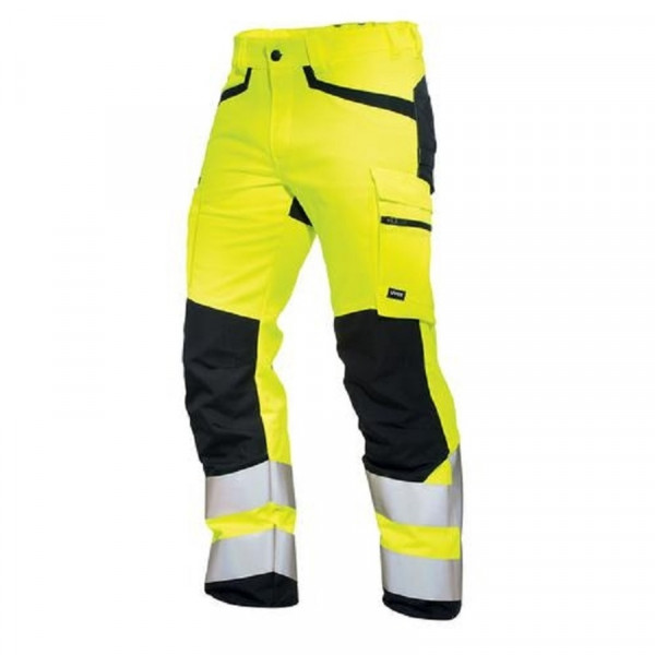 UVEX, protection flash + storm Herrenhose warngelb / 89656