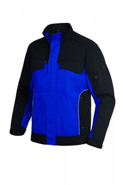 FHB ERNST Arbeitsjacke, royalblau-schwarz