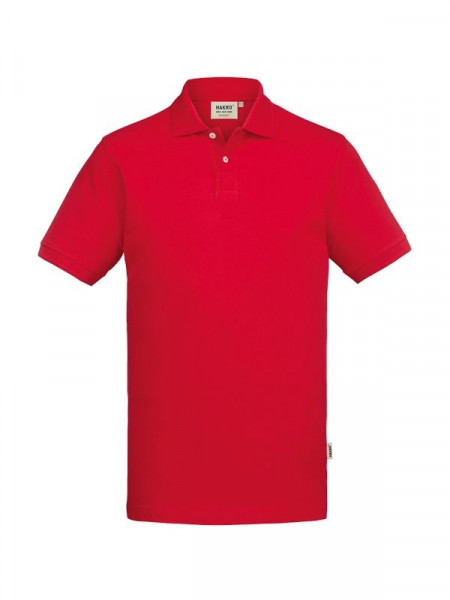 Hakro Poloshirt GOTS-Organic rot 0831-002