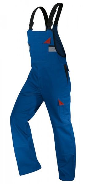 KÜBLER BRAND X PROTECT Latzhose kbl.blau/rot, 30545881