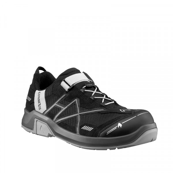 HAIX, CONNEXIS Safety T S1P low black-silve 630004
