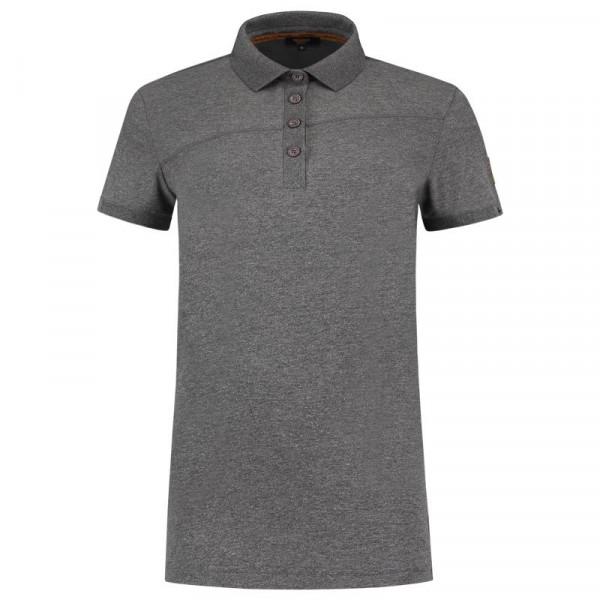 TRICORP, Poloshirt Premium Quernaht Damen, Stonemel, 204003