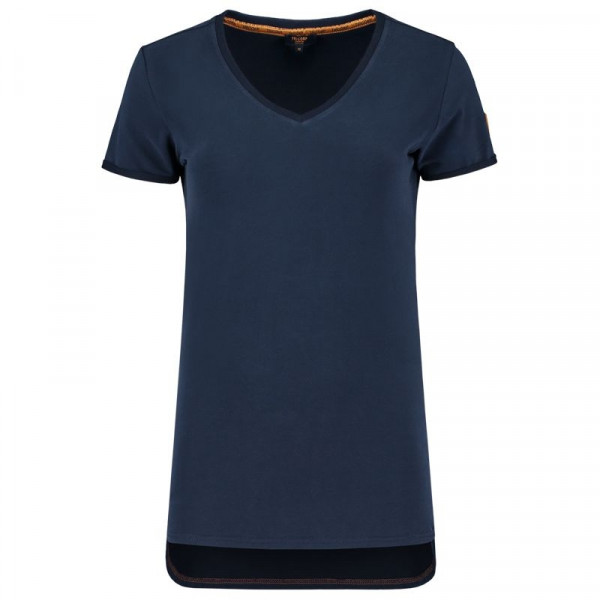 TRICORP, T-Shirt Premium V-Ausschnitt Damen, Ink, 104006