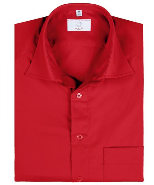 GREIFF Herren-Hemd 1/2 Regular F rot Blusen/Hemden/Strick 6666.1120.50 6666 1120 Hemd