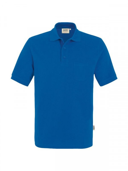 Hakro Pocket-Poloshirt Performance royalblau 0812-010