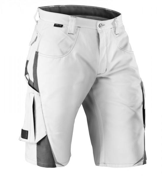 KÜBLER PULSSCHLAG Shorts weiß/anthrazit, 25243314