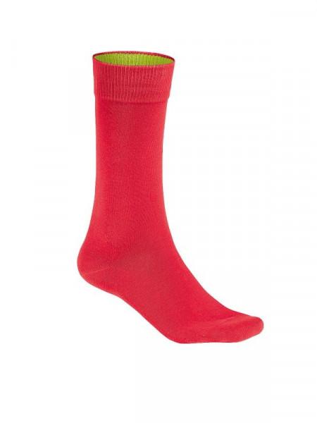 Hakro Socken Premium rot 0933-002