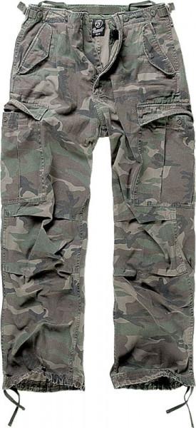 BRANDIT, M65 Vintage Trouser, woodland / 1001