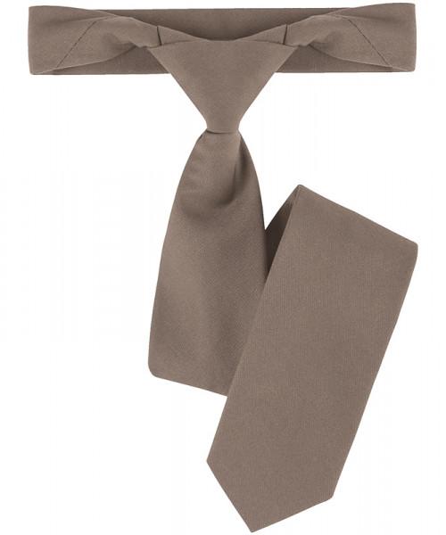 GREIFF, Ruck-Zuck Krawatte/taupe Art.Nr.6921.6400