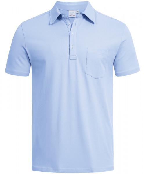 GREIFF Herren-Poloshirt kurzarm bleu Blusen/Hemden/Strick 6627.1405.29 6627 1405 Shirt