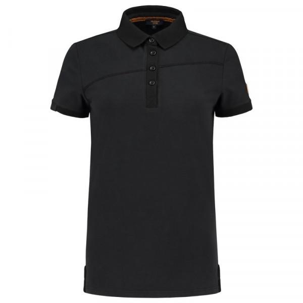 TRICORP, Poloshirt Premium Quernaht Damen, Black, 204003