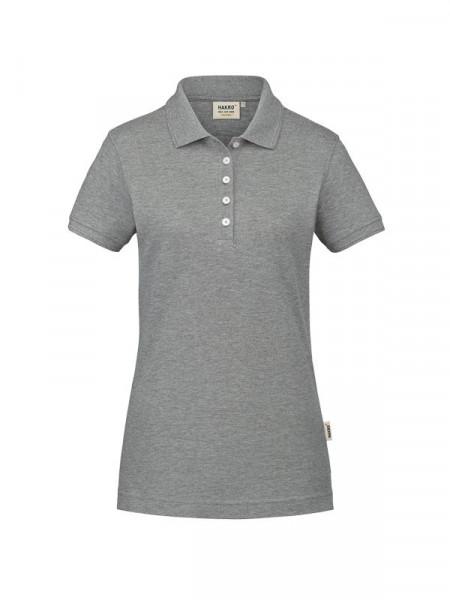 Hakro Damen-Poloshirt GOTS-Organic grau meliert 0231-015