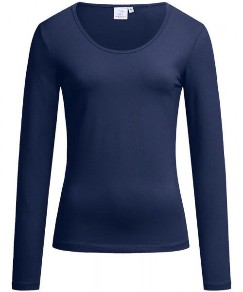 GREIFF, Damen-Shirt Rundhals 1/1/marine Art.Nr.686