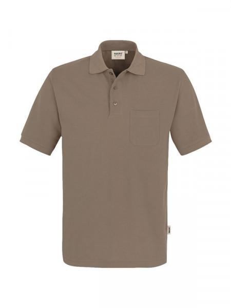 Hakro Pocket-Poloshirt Performance nougat 0812-128