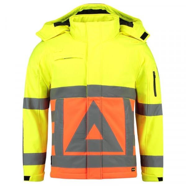 TRICORP, Softshelljacke für Verkehrsregler, Oranyellow, 403002