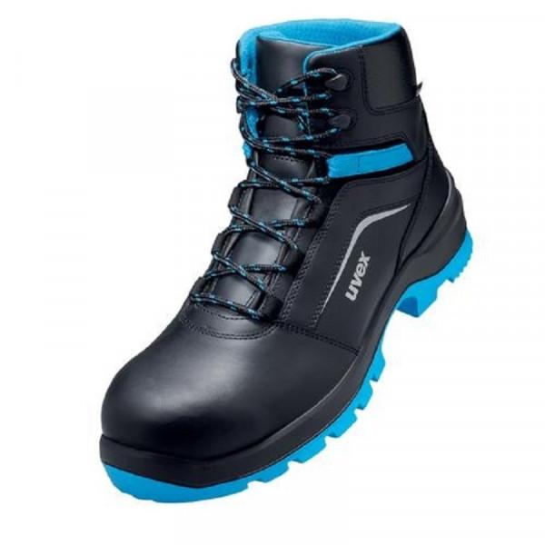 UVEX, 2 xenova Sicherheitsschuh S2 Stiefel Weite 11 blau / 95568