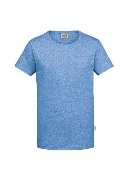 Hakro T-Shirt GOTS-Organic pastellblau meliert 0271-324