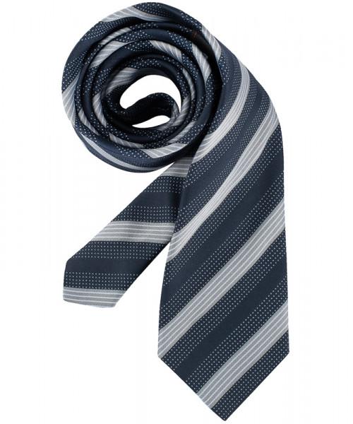 GREIFF, Krawatte/marine/grau gestr Art.Nr.6900.970