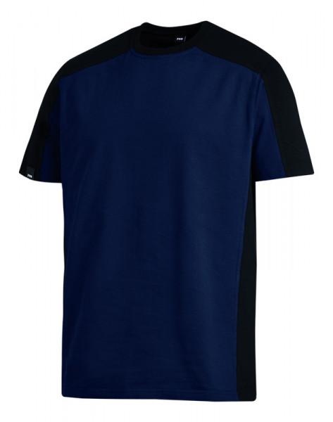 FHB MARC T-Shirt zweifarbig , marine-schwarz