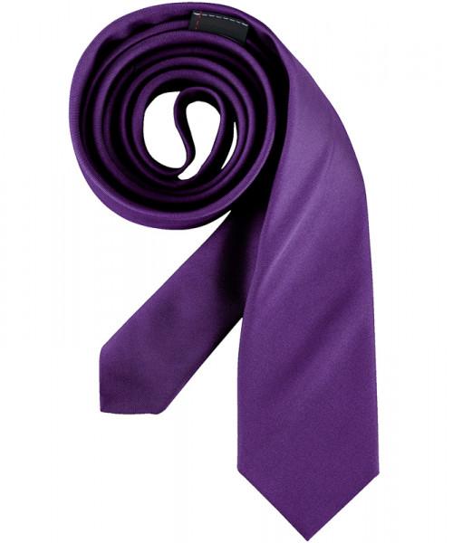 GREIFF Krawatte Slimline lila Accessoires 6918.9500.55 6918 9500 Krawatte