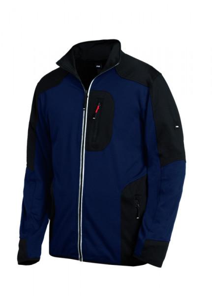 FHB RALF Jersey-Fleece-Jacke, marine-schwarz