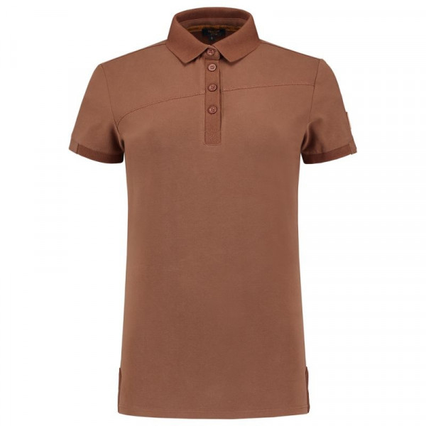 TRICORP, Poloshirt Premium Quernaht Damen, Bronzbrown, 204003