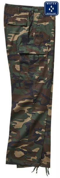BRANDIT, US Ranger Trousers, woodland / 1006