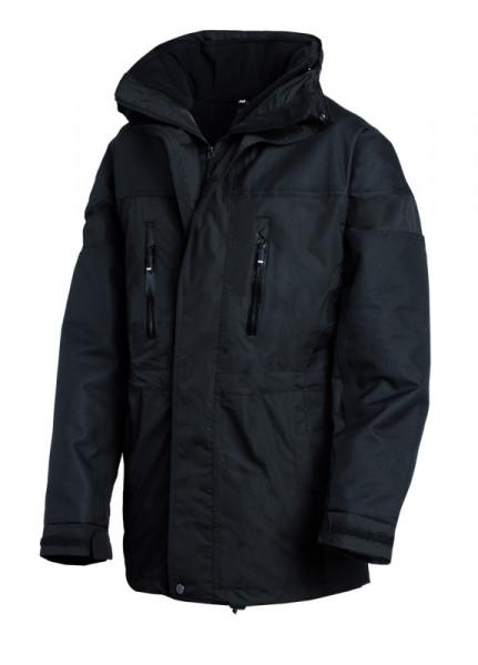 FHB JÜRGEN Wetterschutzjacke 1+1, schwarz