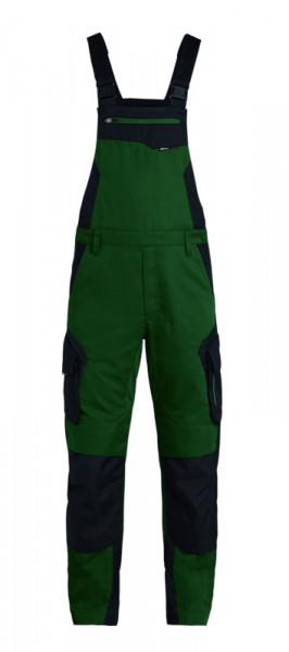 FHB PASCAL Latzhose, grün-schwarz
