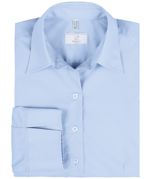 GREIFF, Damen-Bluse 3/4 Regular/bleu Art.Nr.6517.1