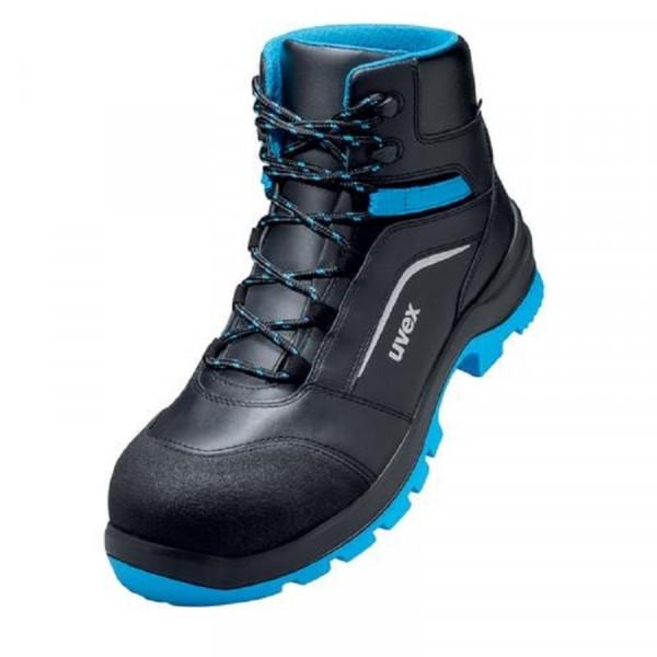 UVEX, 2 xenova Sicherheitsschuh S3 Stiefel Weite 11 blau / 95562