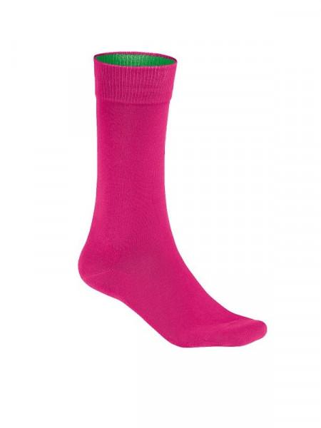 Hakro Socken Premium magenta 0933-122