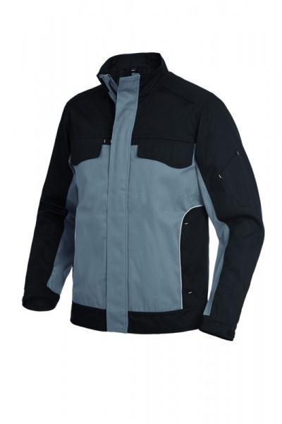 FHB ERNST Arbeitsjacke, grau-schwarz