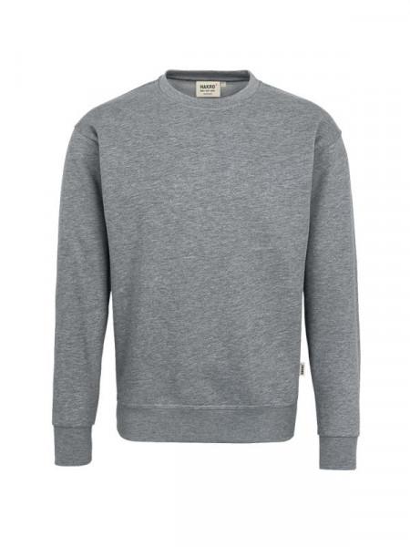 Hakro Sweatshirt Premium grau meliert 0471-015