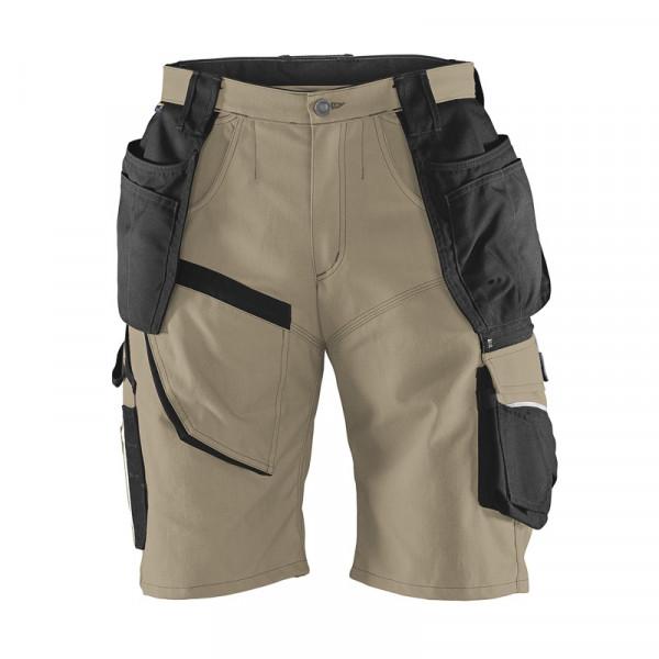 KÜBLER PRACTIQ Shorts sandbraun/schwarz, 24519314