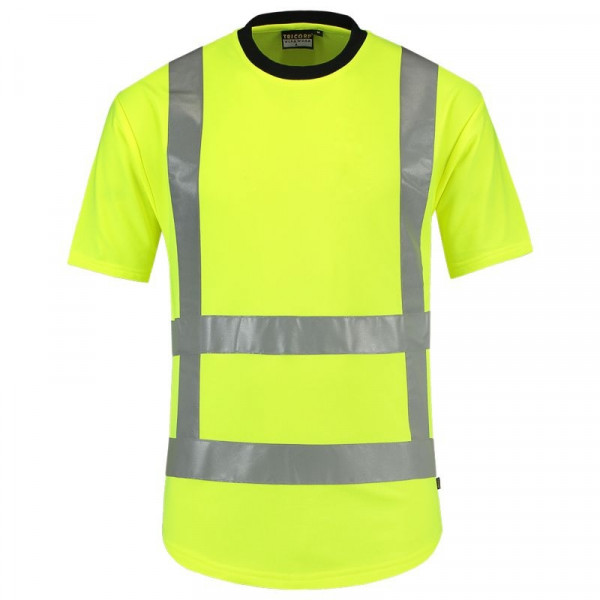 TRICORP, T-Shirt RWS EN ISO 20471, Yellow, 103001