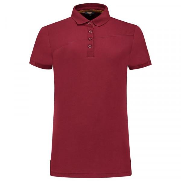 TRICORP, Poloshirt Premium Quernaht Damen, Bordeaux, 204003