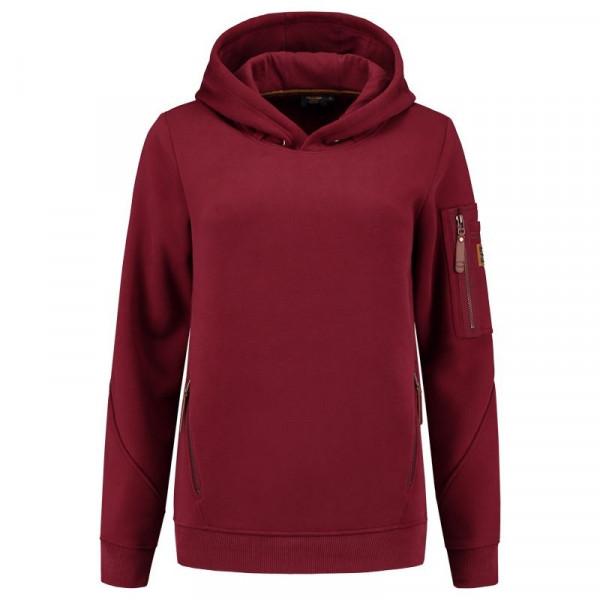 TRICORP, Hoodie Premium Damen, Bordeaux, 304006