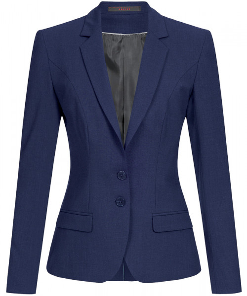 GREIFF Damen-Blazer Slim Fit royalblau Corporate Wear 1411.666.125 1411 666 Blazer