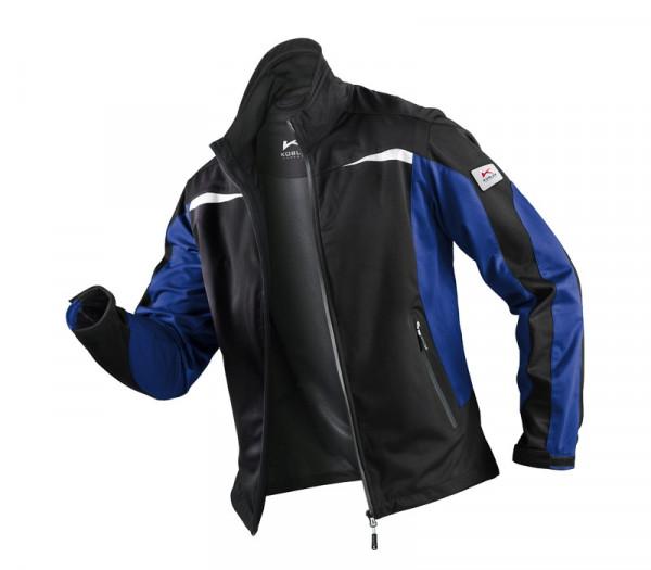 KÜBLER WEATHER Jacke schwarz/kbl.blau, 11415227