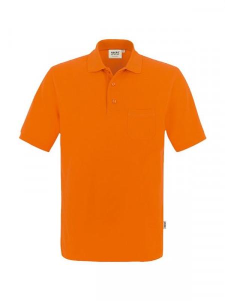 Hakro Pocket-Poloshirt Performance orange 0812-027