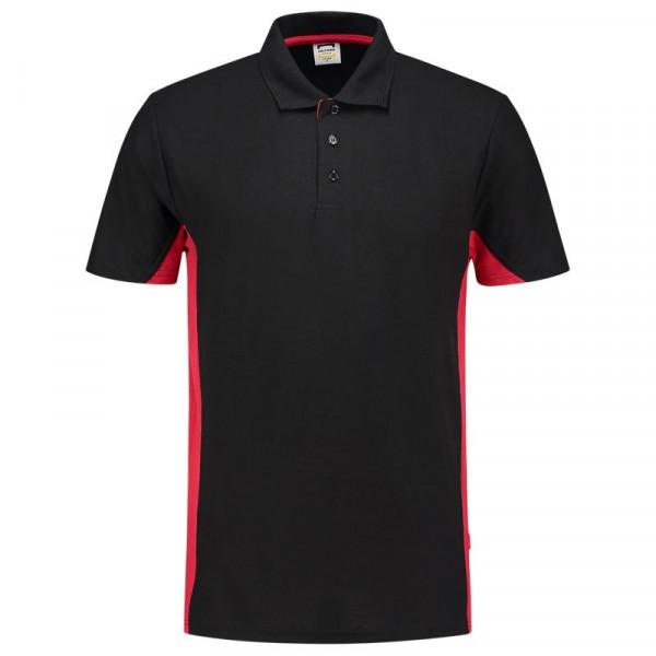 TRICORP, Poloshirt Bicolor, Blackred, 202004