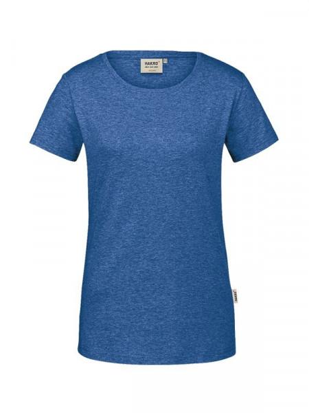 Hakro Damen-T-Shirt GOTS-Organic ultramarinblau meliert 0171-325