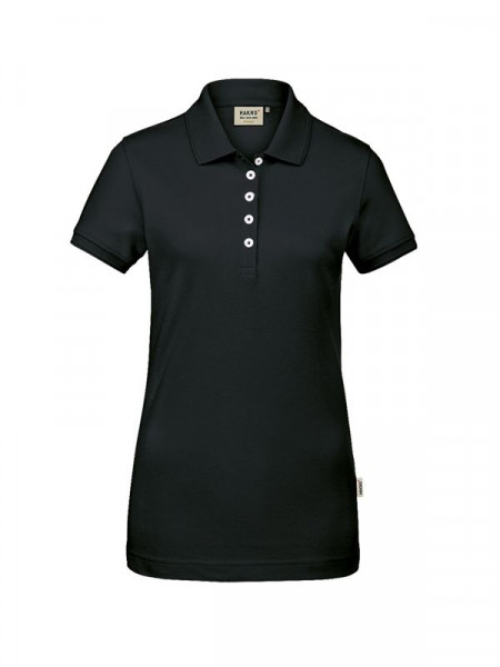 Hakro Damen-Poloshirt GOTS-Organic schwarz 0231-005