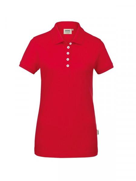Hakro Damen-Poloshirt GOTS-Organic rot 0231-002