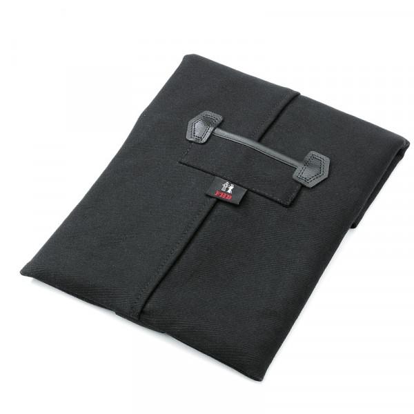 FHB GERD ipad-Tasche Zwirn-Doppelpilot, schwarz