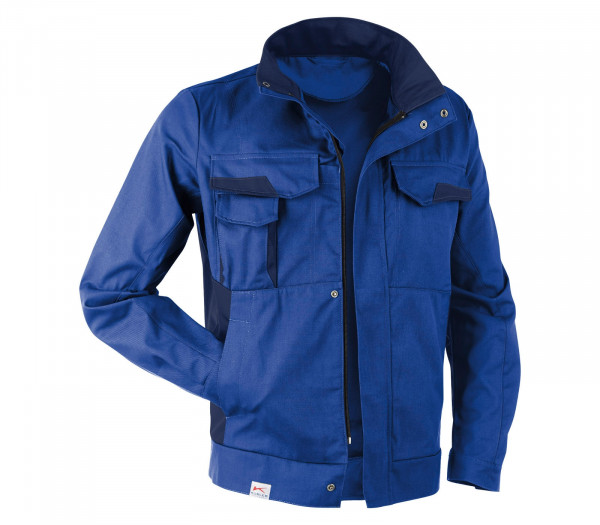 KÜBLER VITA cotton+ Jacke kbl.blau/dunkelblau, 1L453421