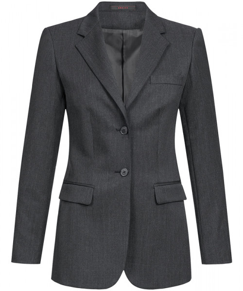 GREIFF Damen-Blazer Comfort Fit anthrazit Corporate Wear 1414.7000.11 1414 7000 Blazer
